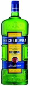 český bylinný likér Becherovka