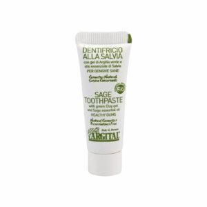 Zubní pasta se šalvějí a zeleným jílem Argital